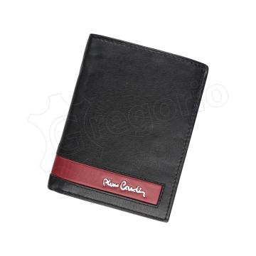 Pierre Cardin CB TILAK26 326 RFID (czarny + czerwony)